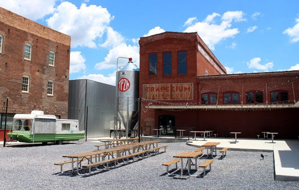 Trapezium's flagship brewery at 423 Third St. in Petersburg. (Mike Platania)