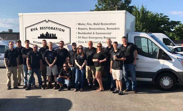 The RVA restoration staff.