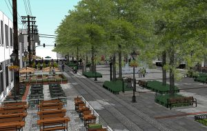 Rendering of the 17th St. Farmers Market improvements. (City of Richmond)