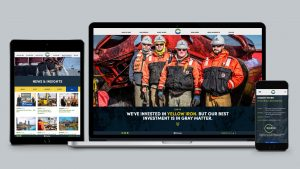 Circle S studio redesigned Charter Contracting Co.'s website.