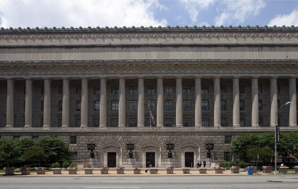 The Herbert C. Hoover building in Washington, D.C. (Library of Congress)