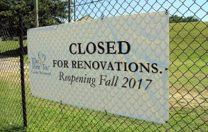 The facility is expected to reopen next fall. (Michael Schwartz)