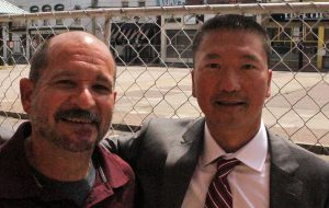 Scott Poates of River City Diner and Chris Tsui of EAT Restaurant Partners. (J. Elias O'Neal)