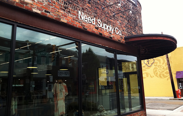 Need Supply Co.'s retail store at 3100 W. Cary St. (Michael Schwartz)