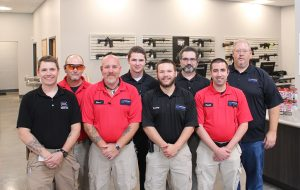 The Blue Ridge Arsenal team in its new Hanover outpost. (Michael Schwartz)