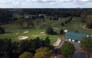 belmont golf club aerial