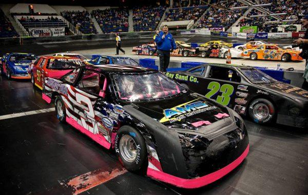 arena racing cars