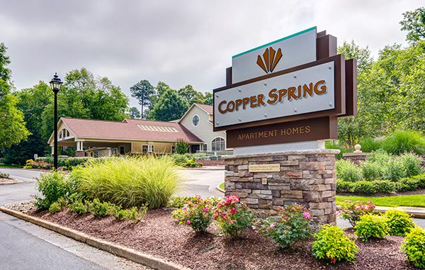 copper spring entrance