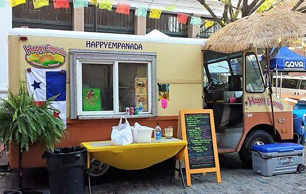 happy empanada truck
