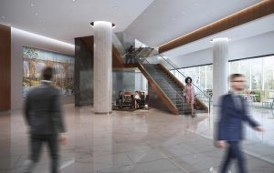james center lobby rendering