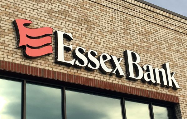essex bank sign