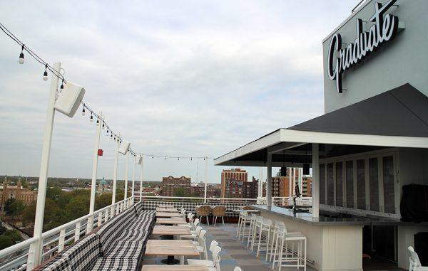 graduate rooftop