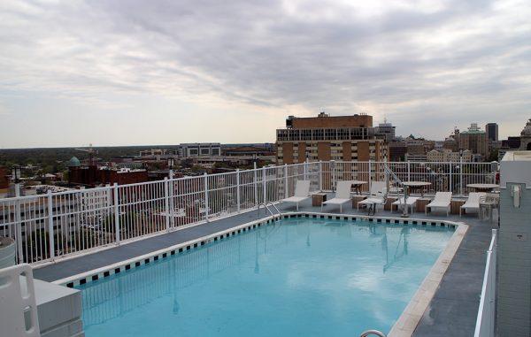 graduate rooftop pool
