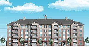 apartment building rendering