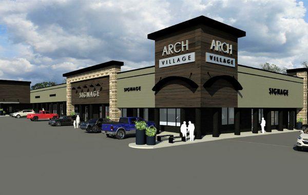 arch village rendering