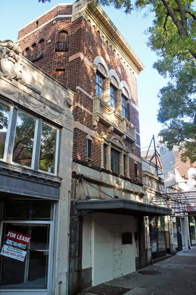 The owner of a local company is converting an East Grace Street building into offices. Photos by Michael Thompson.