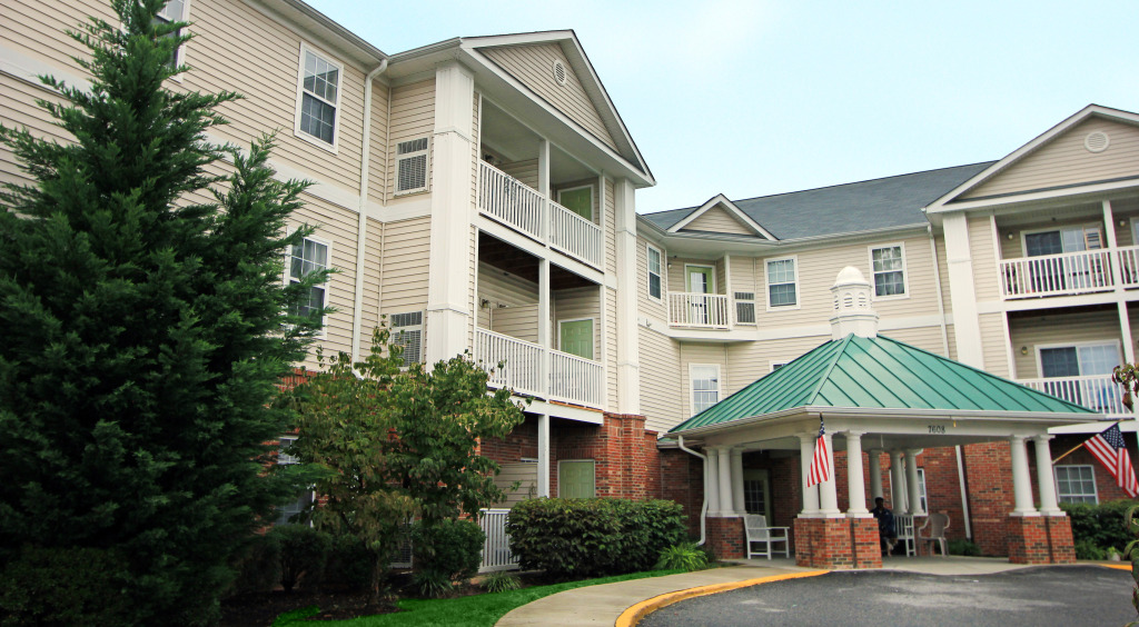 The Arbors Senior Apartment Community is one of two apartment complexes that a firm is unloading from its portfolio. Photos courtesy of Greysteel Co.