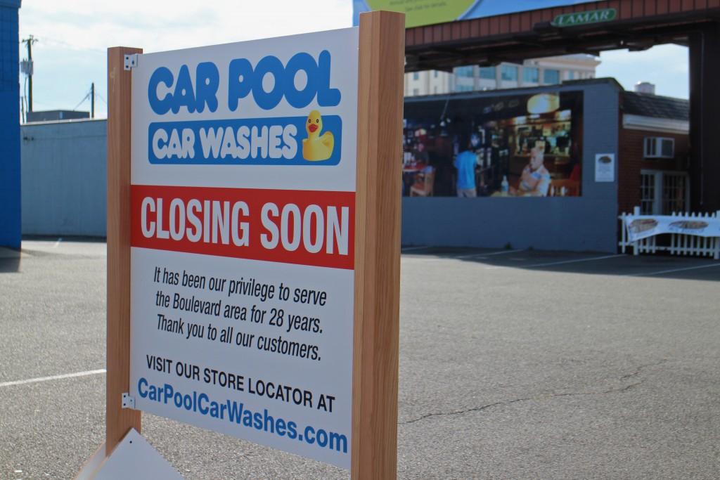 Car Pool on Boulevard will soon be shutting down. Photos by Michael Thompson.