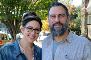 Isabel and James Eckrosh are opening a restaurant in Church Hill. Photos by Michael Thompson.