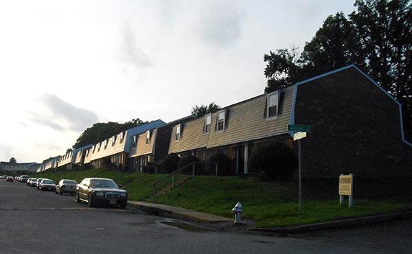The 116-unit Dutch Village apartment complex sits on 13 acres. (Photo by Burl Rolett)