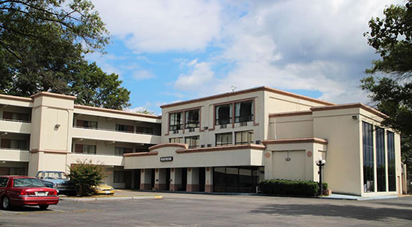 The Economy Inn faces an October foreclosure. Photo by Burl Rolett.