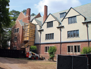 University of Richmond's Jeter Hall is being converted into suite-style student dorms.