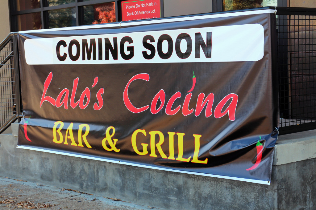 A new restaurant is opening on West Broad Street. Photo by Michael Thompson.
