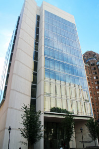 The Massey Research Pavilion takes up the top two floors of the VCU School of Medicine's McGlothlin Medical Education Center.