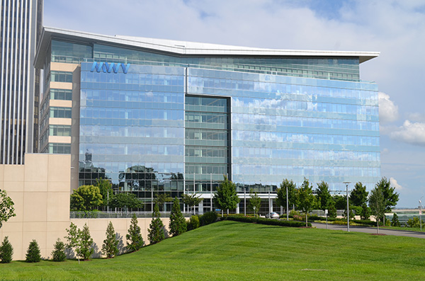 The 310,000-square-foot MeadWestvaco headquarters building. (Photo by Mark Robinson)