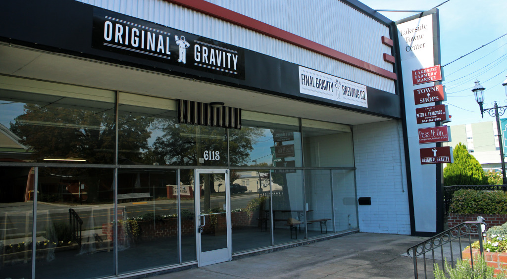 Home-brew shop Original Gravity is opening a small brewery on Lakeside Avenue. Photo by Michael Schwartz.