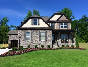 The Patriots Landing model home recently won an award for Best Curb Appeal.