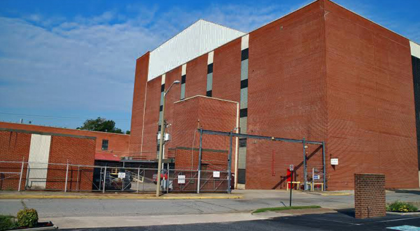 Tom Wilkinson has an updated plan for an old cigarette complex in Petersburg. Photos by Burl Rolett.