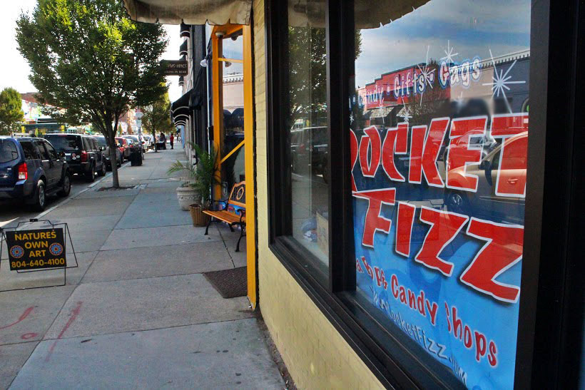A Rocket Fizz candy and soda shop will open in Carytown. Photo by Michael Thompson.