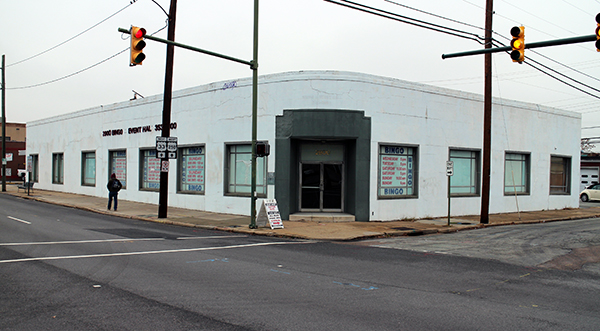 A school is considering redeveloping its bingo hall into a new retail space near Scott's Addition. Photo by Michael Thompson.