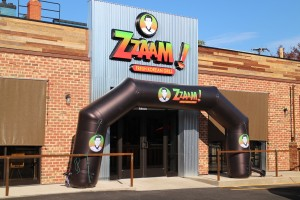 Zzaam took over the space at