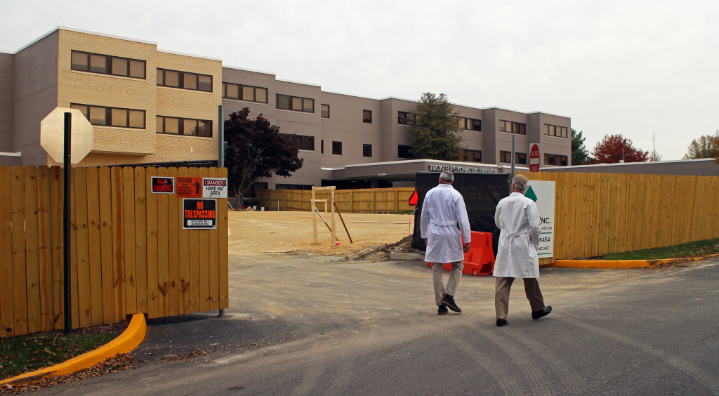 HCA is expanding the Tucker Psychiatric Center at Chippenham Hospital. Photos by Katie Demeria.