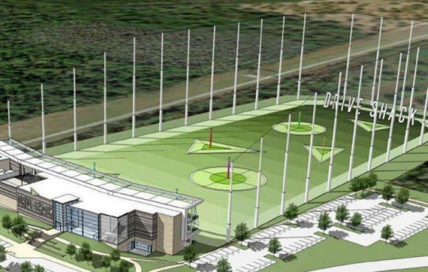 A rendering of Drive Shack's planned driving range in Orlando. (Courtesy Drive Shack)
