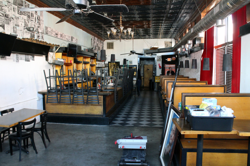 A downtown restaurant and bar has closed up shop. Photos by Michael Thompson.