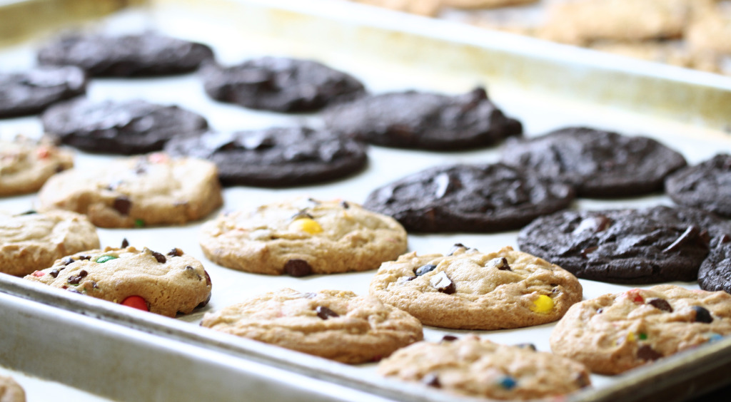 Another cookie company is going to start pulling all-nighters near VCU. Photos courtesy of Insomnia Cookies.