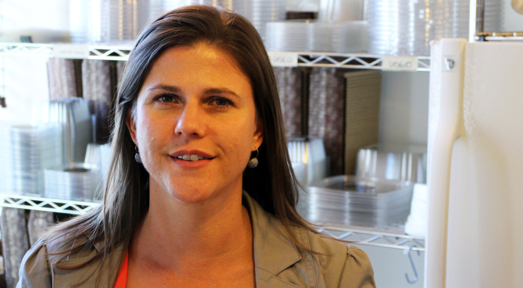 Lynette Potgieter plans to open a bakery and cafe in Jackson Ward next year. Photos by Burl Rolett.