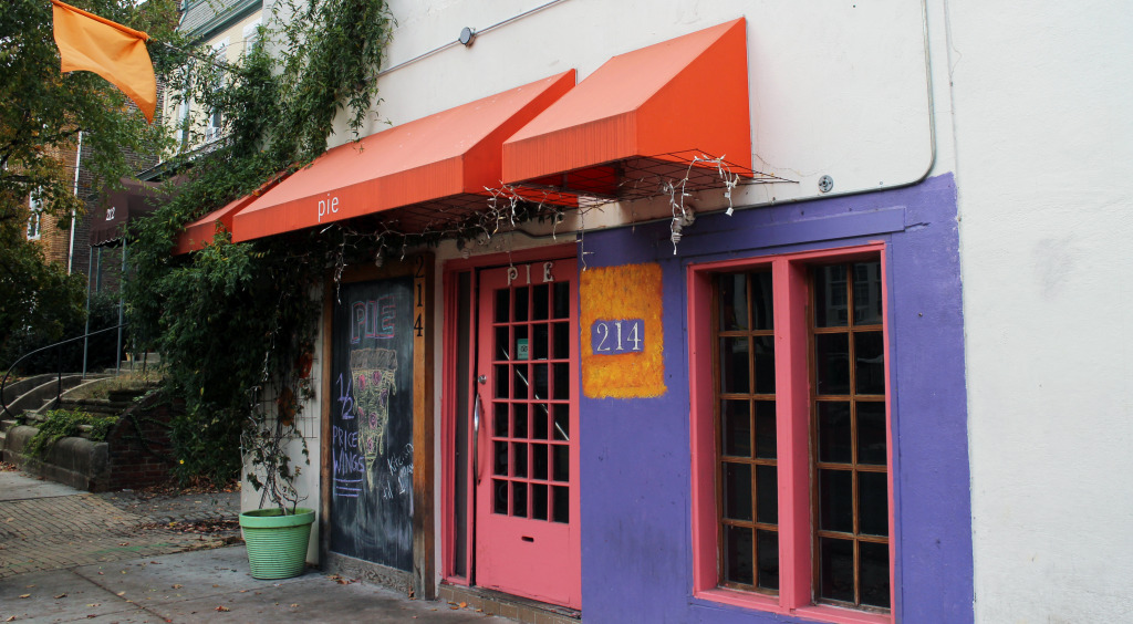 The Pie property on Lombardy Street was sold after its owner filed for bankruptcy.