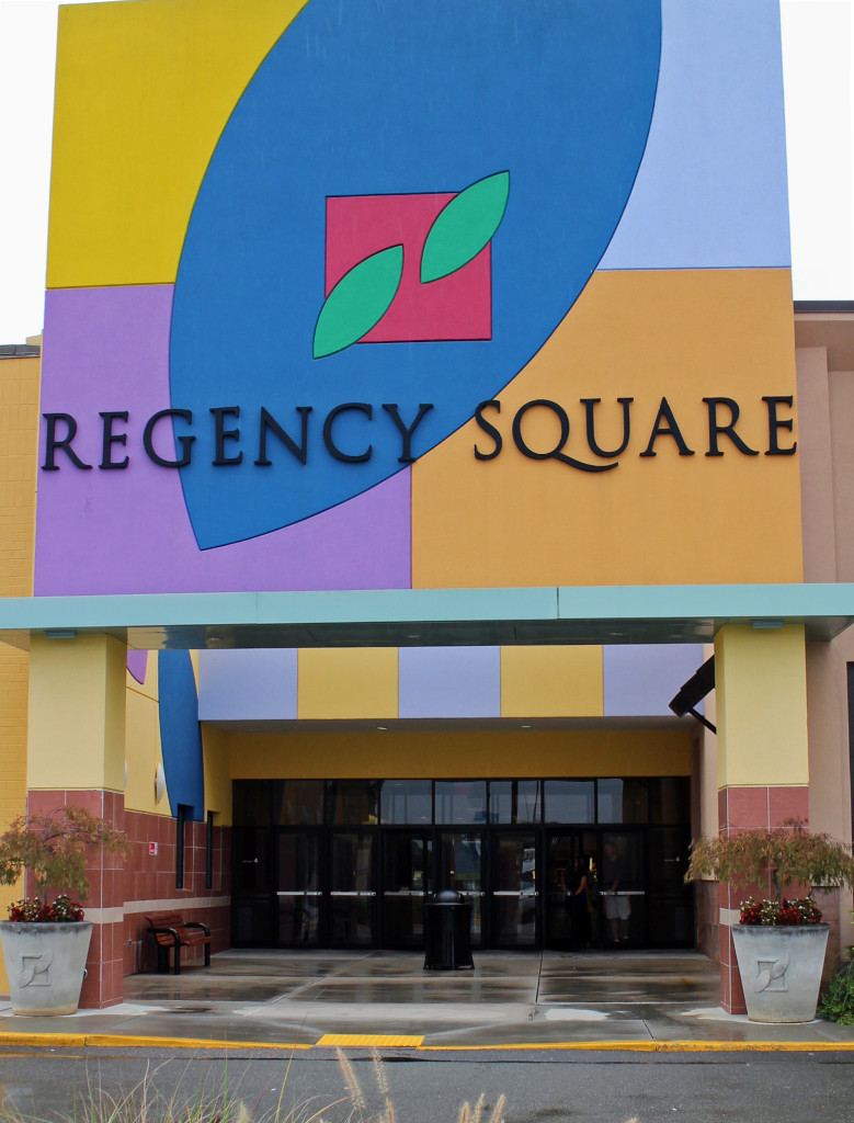 The Regency Mall on Parham Road will be put up for sale in the next few weeks. Photos by Linda Dunham.