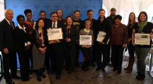 This year's awards gave donations to 13 Church Hill businesses.