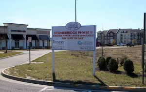 The Stonebridge Marketplace Shopping Center was sold in November for $12 million. (Jonathan Spiers)