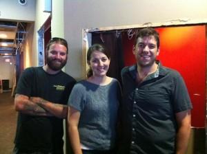 Josh Bufford, left, Jessica Bufford and Ian Kinker (File Photo)