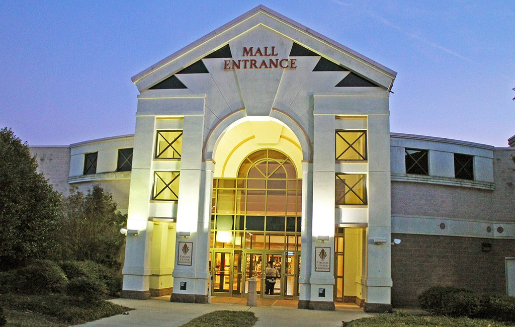 Virginia Center Commons, a suburban mall at 10101 Brook Road, was purchased for $9 million.